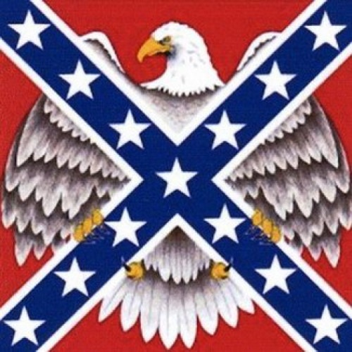 Bandana Rebel Flag & Eagle Bandanna