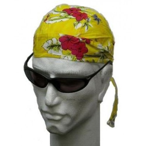 gul hibiscus head wrap