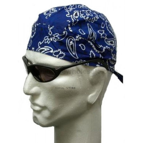 Royal Blue Headwrap Bandana