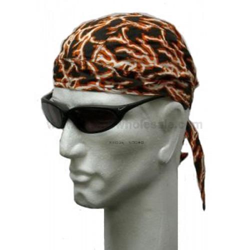 Orange Lyn Headwrap