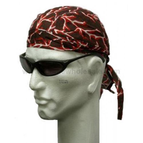 Rødt Lyn Headwrap