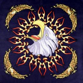 Bandana Flaming Eagle