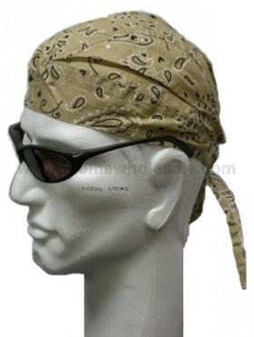 Lysebrun Paisley Head Wrap Zandana Bandana