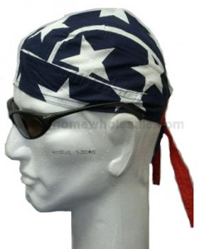 USA Flag Stars and Stripes Bigger and Better Head Wear